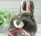 冬季HOT儿童灰兔兔帽子动漫、影视主题玩具