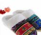 民族风横条拖 居家拖鞋冬季可爱保暖地板棉拖鞋P37