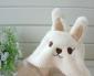 批发供应LE SUCRE砂糖兔白色围巾