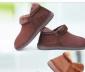 男保暖鞋 居家拖鞋 棉拖鞋包跟家居长毛绒男 父子靴