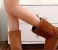 超人气 4色 韩版恩彩中筒雪地靴 女靴子 冬靴子 保暖棉鞋